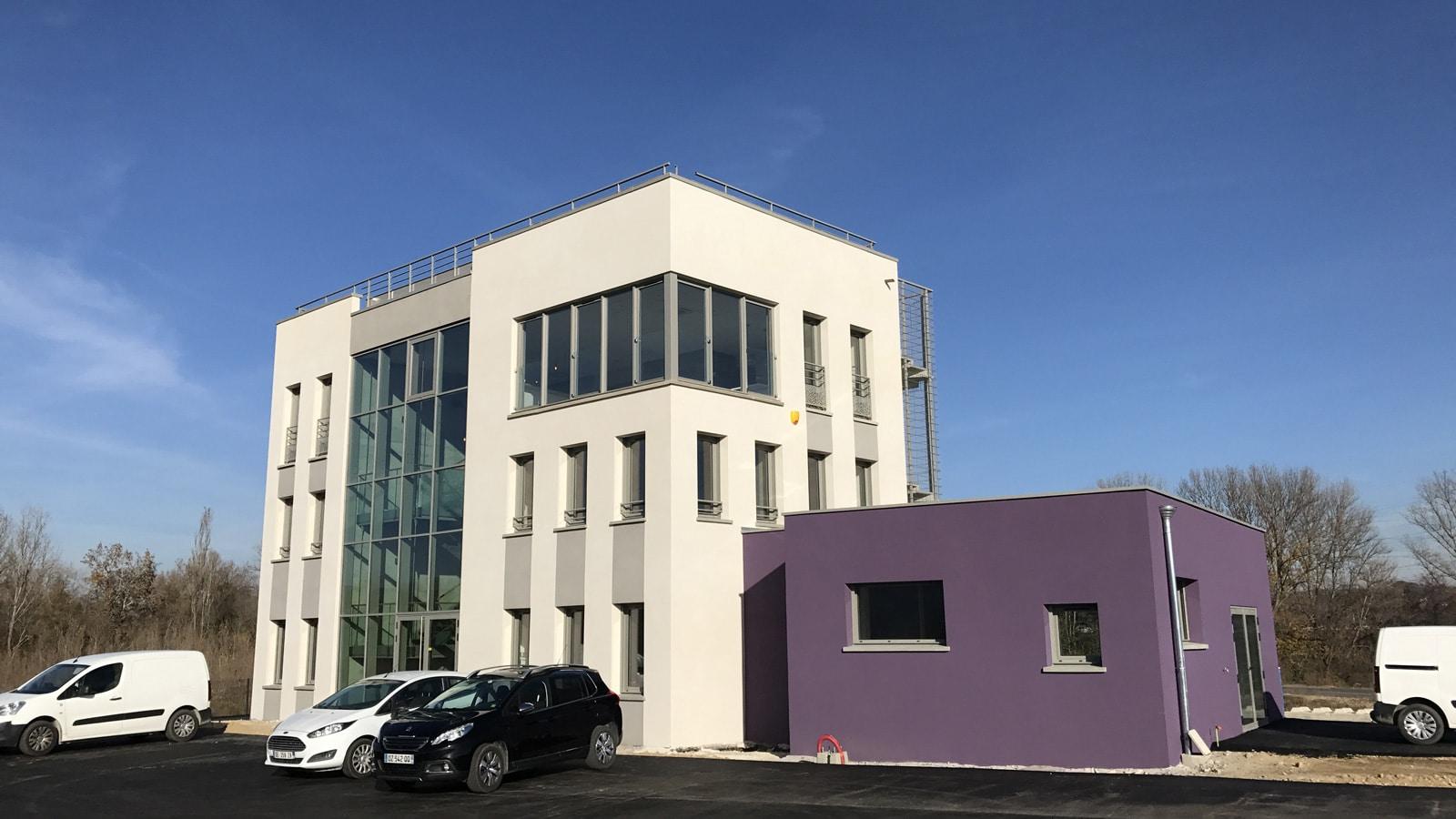 Bâtiment bureaux - Sablons (38)