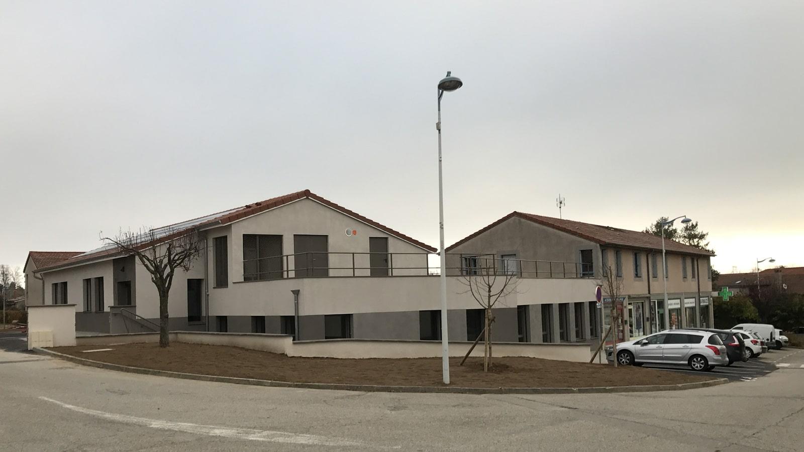 Création d'une maison médicale à Peaugres